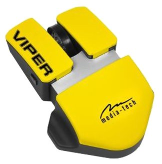 Мышь Media-Tech MT1101 Viper Yellow USB