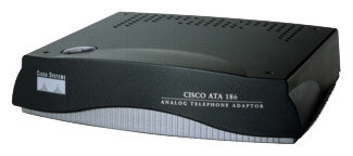 Cisco Адаптер для VoIP-телефонии Cisco ATA 186