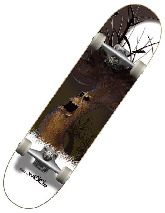 Скейтборд HELLO WOOD Wood