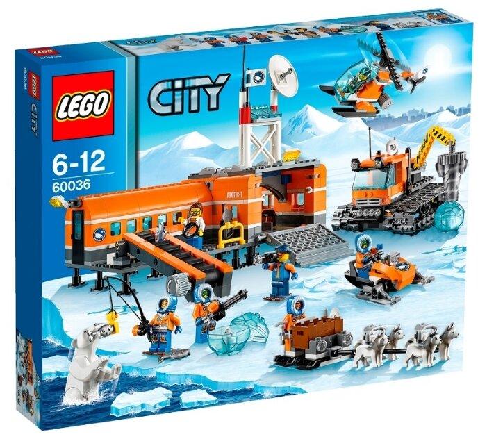 Конструктор LEGO City 60036 Арктическая база
