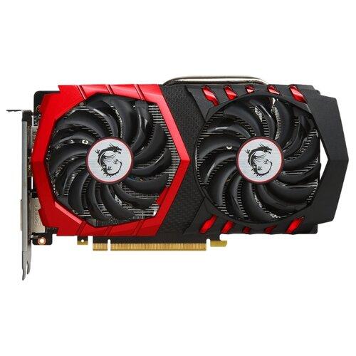 Видеокарта MSI GeForce GTX 1050 Ti 1290Mhz PCI-E 3.0 4096Mb 7008Mhz 128 bit DVI HDMI HDCP GAMING Retail  - купить со скидкой