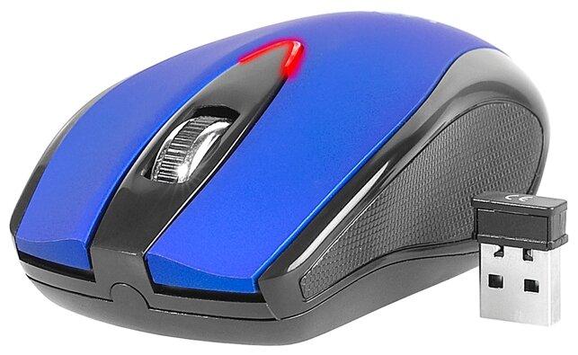 Мышь Tracer Orchidea RF Nano Blue USB