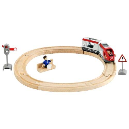 Купить Brio Стартовый набор со светофором из 15 элементов, 33511, Наборы, локомотивы, вагоны