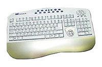 Клавиатура SVEN Multimedia 733 Silver PS/2