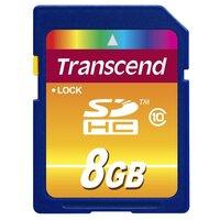 Transcend SDHC Class 10 8GB (TS8GSDHC10) карта памяти
