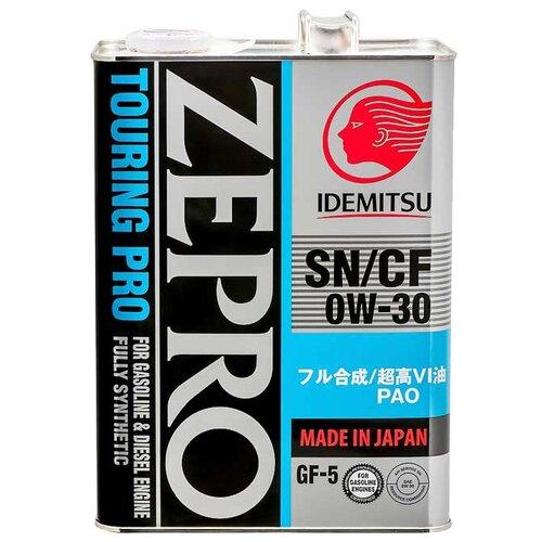 Синтетическое моторное масло IDEMITSU Zepro Touring Pro 0W-30, 4 л по цене 2 525