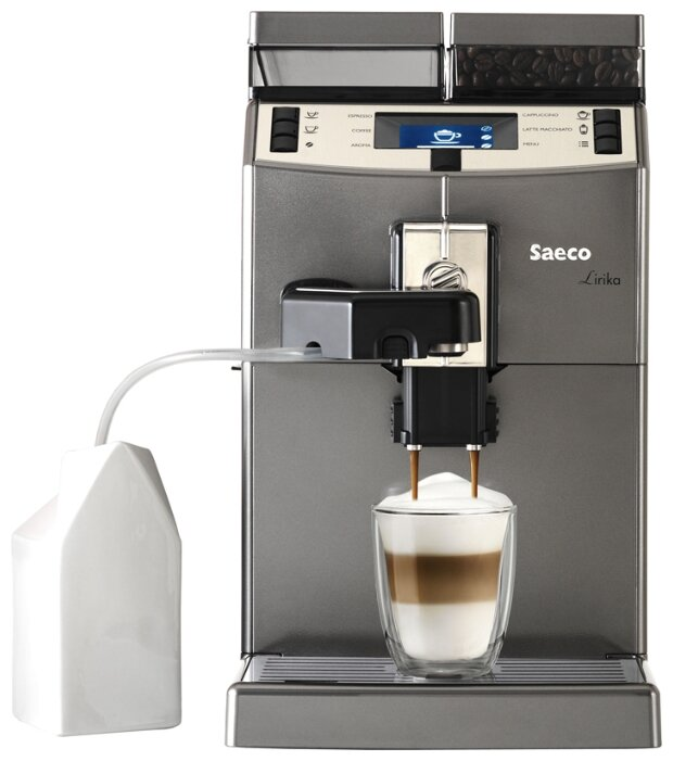 Saeco Кофемашина Saeco Lirika One Touch Cappuccino