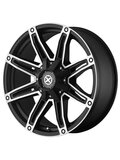 American Racing 9x20/5x115 ET18 D72,62 AX193 Black/Machined - фото 1