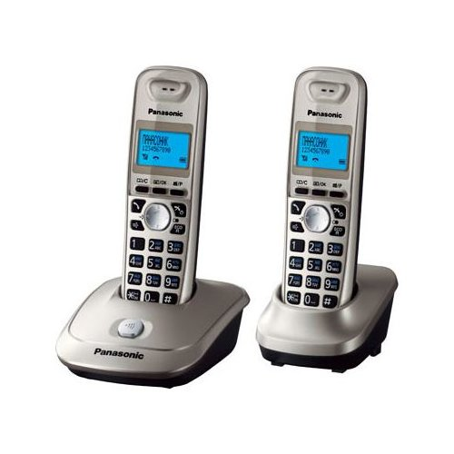 Радиотелефон Panasonic KX-TG2512 платиновый радиотелефон dect panasonic kx tg2511run платиновый