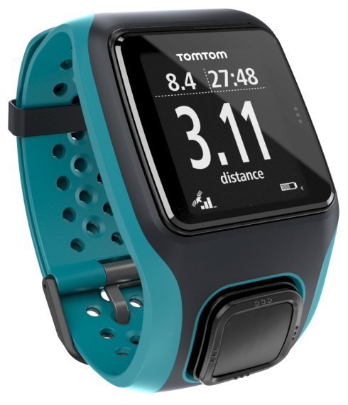 Часы TomTom Multi-Sport (with HR strap)
