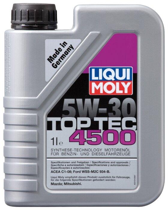 Моторное масло LIQUI MOLY Top Tec 4500 5W-30 1 л