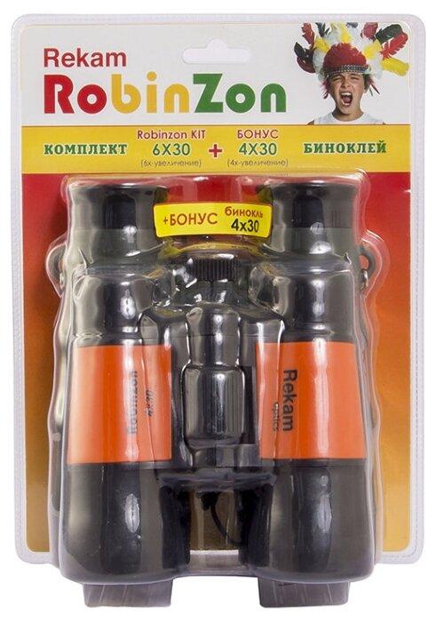 Бинокль Rekam Robinzon Kit 6x30 4x30