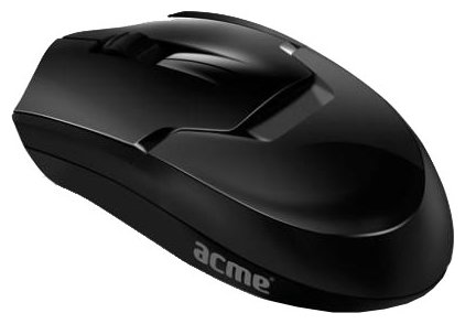 Мышь ACME MW08 Powerful wireless optical mouse Black USB