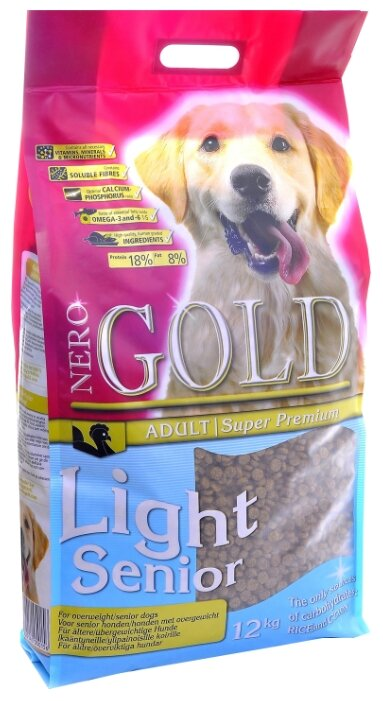 Корм для собак Nero Gold Senior Light