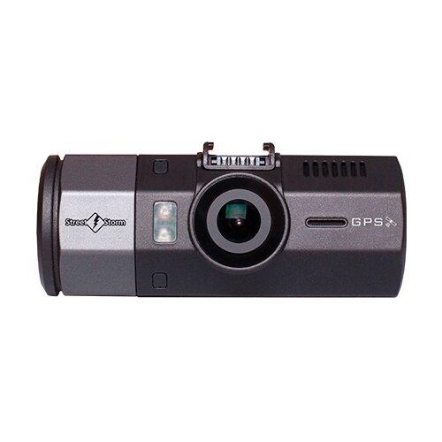 Видеорегистратор Street Storm CVR-N9220-G, 2 камеры, GPS серый