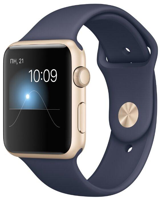 Часы Apple Watch Sport 42mm with Sport Band — 33 отзыва о товаре на  Яндекс.Маркете 887034229c3