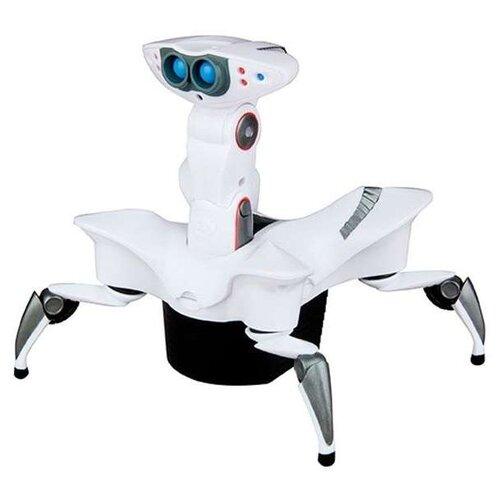 цена на Интерактивная игрушка робот WowWee Mini Roboquad белый