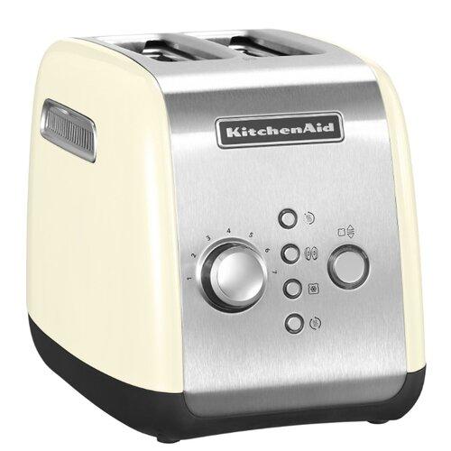 Тостер KitchenAid 5KMT221EAC, кремовый