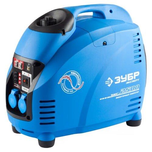 Фото - Бензиновый генератор ЗУБР ЗИГ-2500 (2200 Вт) генератор зубр зиг 1200