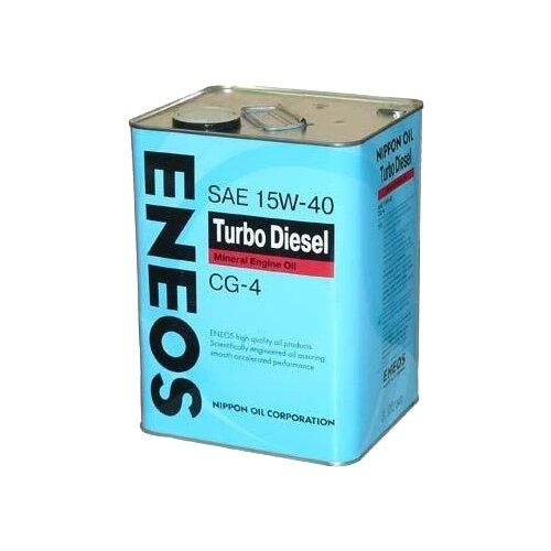Моторное масло ENEOS Turbo Diesel CG-4 15W-40 6 л