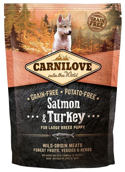 Корм для собак Carnilove Salmon & Turkey for Large breed puppy