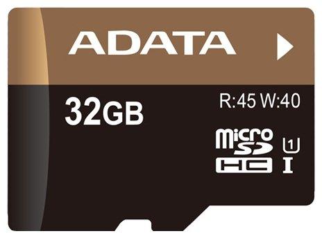 ADATA Premier Pro microSDHC Class 10 UHS-I U1 + SD adapter