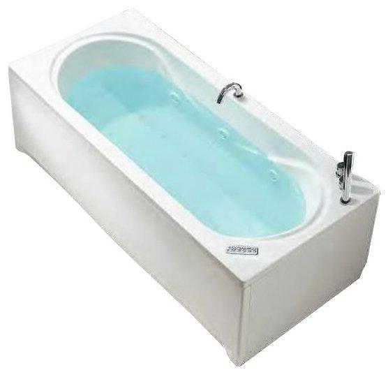 Отдельно стоящая ванна Hafro Ondaria 180x80 без гидромассажа