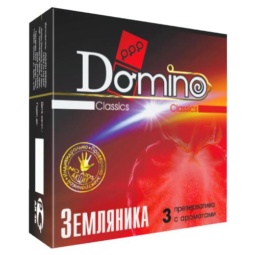 Презервативы DOMINO Classics Земляника (3 шт.)