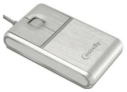Мышь MacAlly AccuGlide Silver USB
