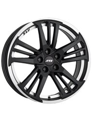Диски ATS Prazision 8,5x19 5x114,3 D70.1 ET30 цвет Racing Black Lip Polished - фото 1