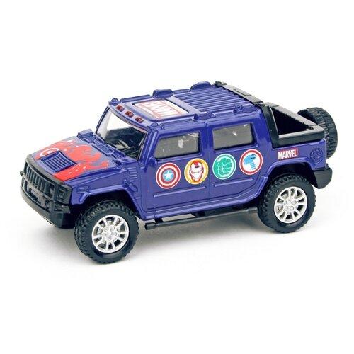 Купить Внедорожник Autotime (Autogrand) Junior Motors Marvel (49394) 1:36 11 см синий, Машинки и техника