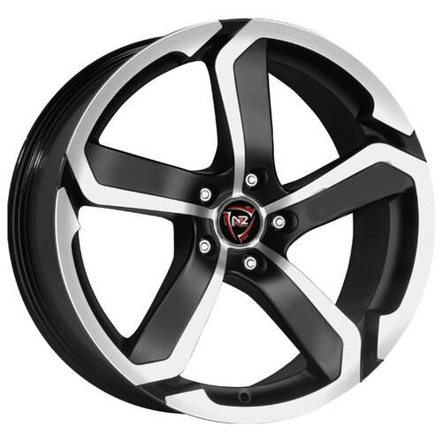 Фото - Колесный диск NZ Wheels SH665 7x17/5x108 D63.3 ET55 BKF колесный диск nz wheels sh662 7x17 5x108 d63 3 et55 sf