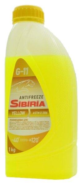 Антифриз SIBIRIA Антифриз -40 Желтый