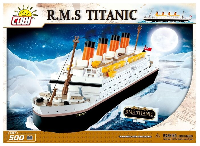 Конструктор Cobi R.M.S. Titanic 1914