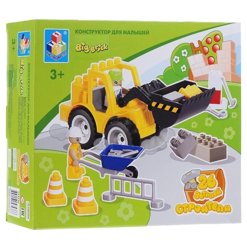 Конструктор 1 TOY Big Brick T53536 Строители