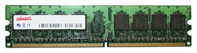 Оперативная память TakeMS DDR2 400 Registered ECC DIMM 1Gb