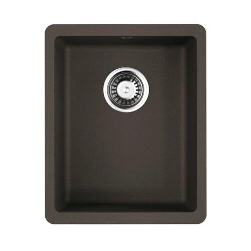 Врезная кухонная мойка 34 см OMOIKIRI Kata 34-U 4993381 темный шоколад