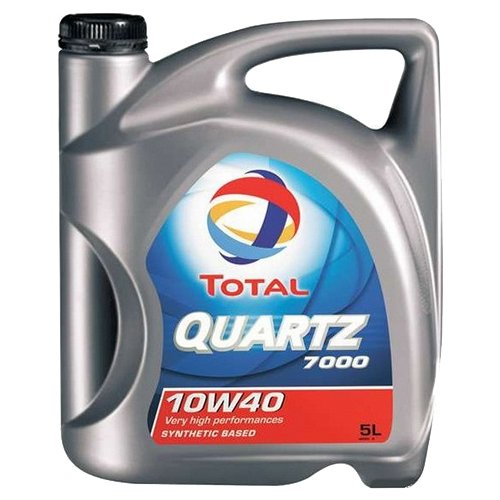 Моторное масло TOTAL Quartz 7000 10W40 5 л