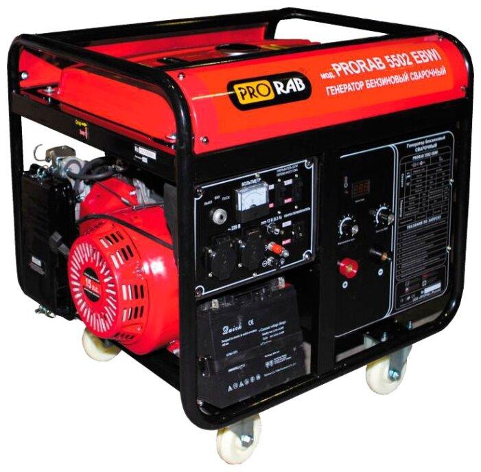 Бензиновый генератор PRORAB PRORAB 5502 EBWI (5000 Вт)
