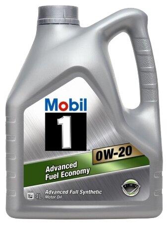 Моторное масло MOBIL 1 Advanced Fuel Economy 0W-20 4 л