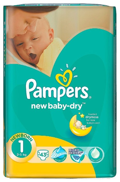 Памперсы для новорожденных по низким ценам