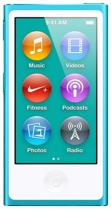 Apple iPod Nano 16Gb Blue (MKN02RU/A)