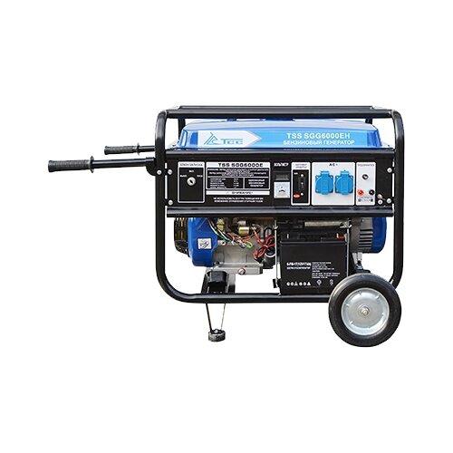 Бензиновый генератор ТСС SGG-6000 EH (6000 Вт)