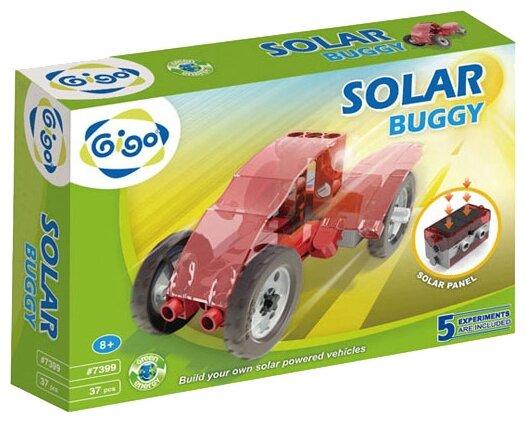 Электромеханический конструктор Gigo Green Energy 7399 Солнечный багги