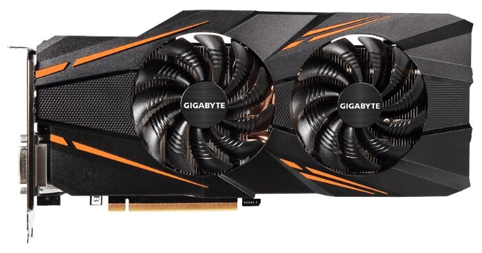 GIGABYTE Видеокарта GIGABYTE GeForce GTX 1070 1531Mhz PCI-E 3.0 8192Mb 8008Mhz 256 bit DVI HDMI HDCP Windforce