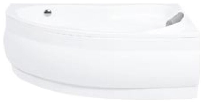 Отдельно стоящая ванна Santek Эдера 170х110 без гидромассажа