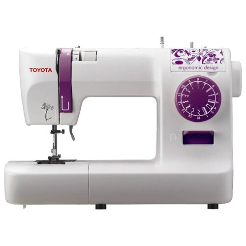 Швейная машина TOYOTA ECO15A, бело-фиолетовый