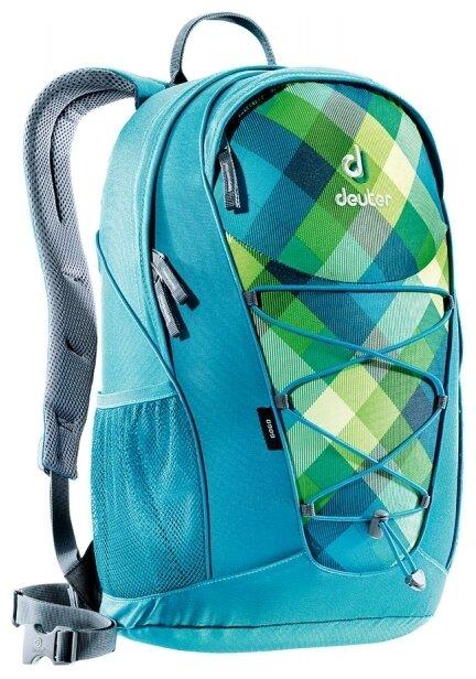 Рюкзак deuter Go Go 25 blue/green (petrol/crosscheck)