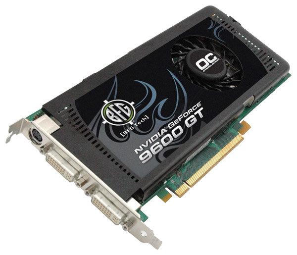 BFG GeForce 9600 GT 675Mhz PCI-E 2.0 512Mb 1800Mhz 256 bit 2xDVI TV HDCP YPrPb