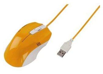 Мышь HAMA H-50408 Orange USB